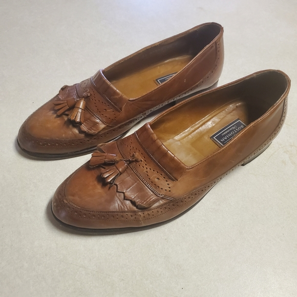 Bostanian Florentino Leather Loafers sz 10 M